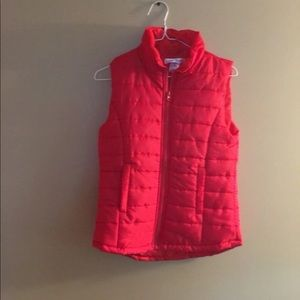 Cute red vest. Never worn!